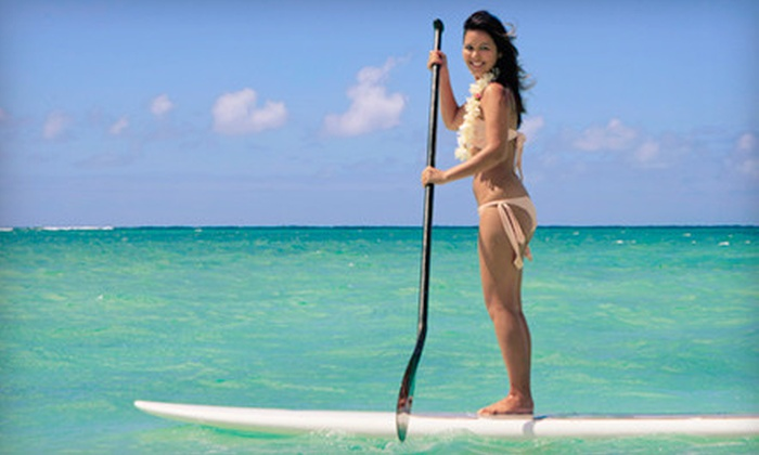 Open Water Miami - Northeast Coconut Grove: One- or Two-Hour Standup Paddleboard Rental at Open Water Miami in Miami Beach (Up to 56% Off)