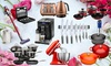 Groupon Goods Global GmbH: Cookware Spring Mystery Deal with a Chance to Receive Le Creuset, KitchenAid Mixer, Hip Flasks and More