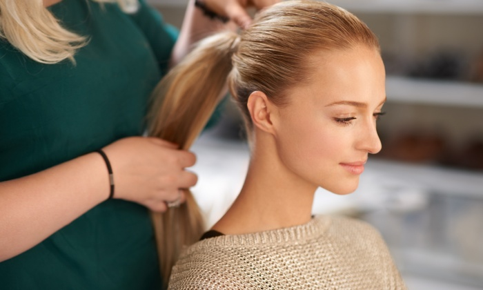 Shampoo And Haircut With Optional Style At Ghazal Hair At Savoir Faire Up To 54 Off