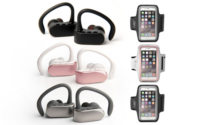 Up To 77 Off On Jarv True Wireless Sport Earbuds Groupon Goods