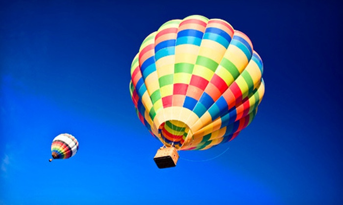 D & D Ballooning - Murrieta: Hot Air Balloon Ride for One, Two, or Four from D & D Ballooning (Up to 54% Off)