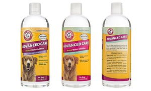 Arm and Hammer Pet Care Dental Water Additive for Dogs (3-Pack)