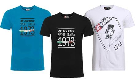 T shirt pour homme Lotto avec impression