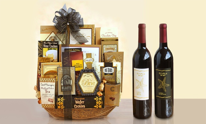 Black Tie Elegance Gift Basket (20-Piece). Shipping Included.: Black Tie Elegance Gift Basket (20-Piece). Shipping Included.