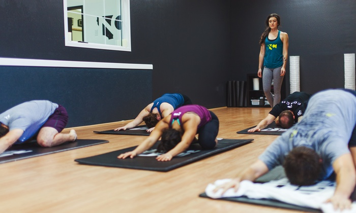 NC Fit - Multiple Locations: 10 or 15 Yoga Classes at NC Fit (Up to 81% Off)