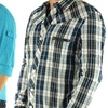 JNCO Men's Long Sleeve Button Up Down Shirts