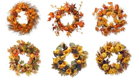 Harvest Wreaths (Multiple Styles Available) 4fef38bd-5ae8-49c5-b7c3-f3d1d6e38283