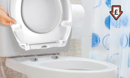One or Two Soft-Close Quick Release Toilet Seats