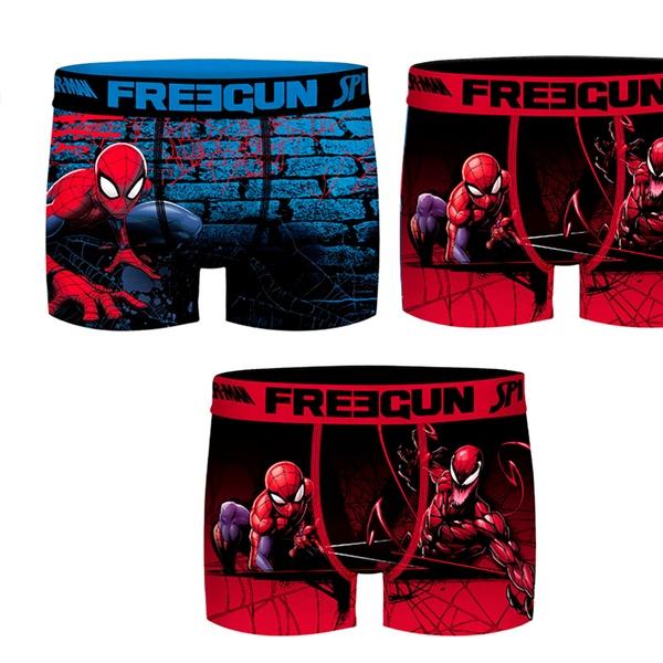 Enfant Marque Ou Boxers Pour 3 Pack Spiderman 6 La Collection Freegun De Tl3cFJK1