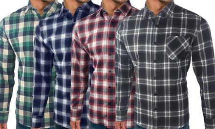 Hunter Long Sleeve Checked Shirt