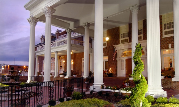 null - Washington DC: Stay with Dining Credit, Luray Caverns Tickets, and Wine Glasses at The Mimslyn Inn in Shenandoah Valley, VA
