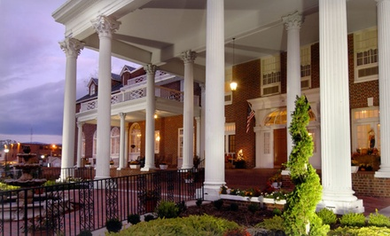Groupon Deal: 1-Night Stay for Two with Optional Wine or New Year's Packages at The Mimslyn Inn in Luray, VA. Combine Up to 3 Nights.