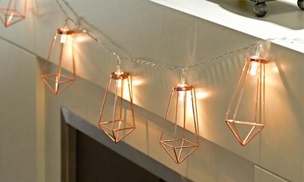 1 o 2 packs de luces geométricas de cuerda