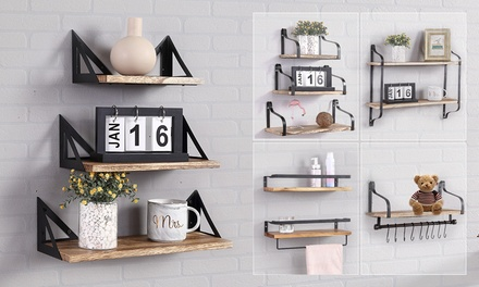 From $29 for Wall-Mounted Floating Shelves in Choice of Design (Don't Pay Up to $99.99)