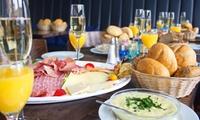 """Frühstück """"Watergate"""" mit Prosecco und frisch gepresstem Saft für 2 oder 4 Personen im Café Watergate (36% sparen*)"""