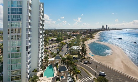 Gold Coast: Up to 7-Night Apartment Stay for Two or Four People with Wine and Chocolates at The Grand Apartments