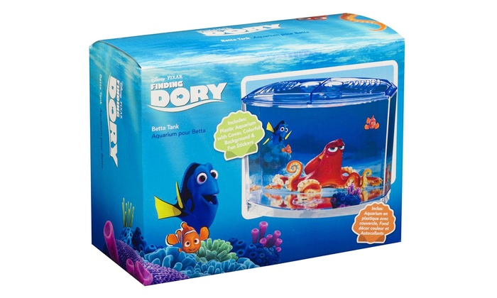 Disney 39 s finding dory fish tanks groupon goods for Fish tank deals