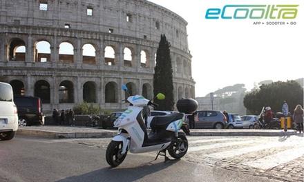 Fino a 300 minuti di Scooter Sharing con eCooltra a Roma, Barcellona, Madrid, Lisbona e Milano (sconto fino a 60%)