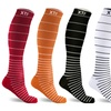 XTF Unisex Stress Relief Compression Socks (6 Pairs)