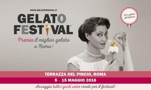Zenais: Gelato Festival, dal 5 al 15 maggio a Roma (sconto fino a 67%)