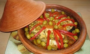 Restaurant Le Tajine: C$38 for a 5-Course berber Dinner for Two at Restaurant Le Tajine (C$58 Value)