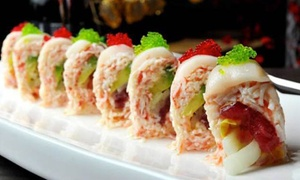 MoonLight Sushi Bar and Grill: Japanese Food and Drinks at MoonLight Sushi Bar and Grill (Up to 42% Off). Three Options Available.
