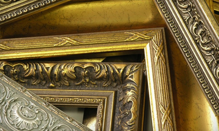 Elite Picture Framing - Morris: $150 Worth of Custom Framing Services