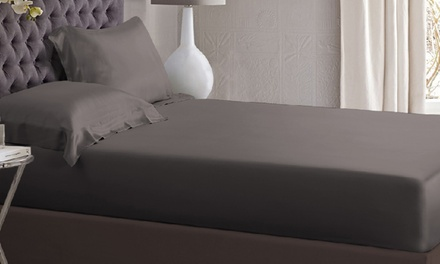 Silky Sateen Fitted Sheet Set: Single $25, Double $34, Queen $39, King $44 Don't Pay up to $99