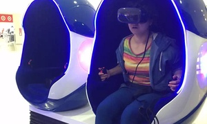 Living Ventures: Virtual Reality Experience for One Person: 1 ($7), 2 ($10.50) or 5 Sessions ($21) at Living Ventures (Up to $35 Value)