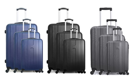 Set di 3 trolley in ABS Hero
