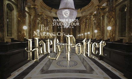 Guidebook, Hot Meal, Beer or Wine, and Butterbeer at Warner Bros. Studio Tour London The Making of Harry Potter
