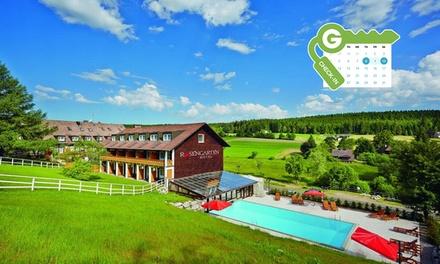 Schwarzwald : Chambre Classique pour 2 en demi pension, avec boisson, vin et accès bien être au Rosengarten Hotel&Spa 4*