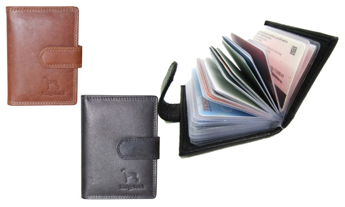 One or Two 20-Slot Card Holders in Choice of Colour for £5.98