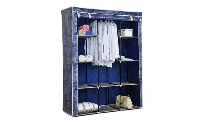 large portable wardrobe closet - Portable Wardrobe Closet