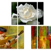 Multi-Panel Gallery-Wrapped Canvas Art Triptych