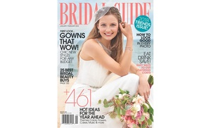 89 off bridal guide magazine subscription for one year groupon rh groupon com Guided Magazine Guide Bridal Magazineuncensoored