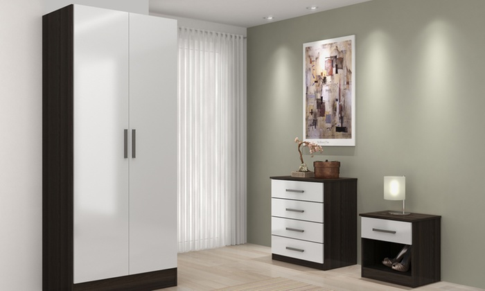 High-Gloss Bedroom Furniture 2