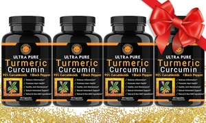 Angry Supplements Ultra Pure Turmeric Curcumin (4- or 6-Pack)