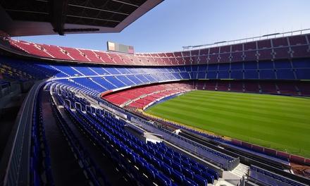 La Liga: 1 o 2 noches en habitación doble o twin con desayuno y entradas a 1 partido en el Camp Nou para 1 persona