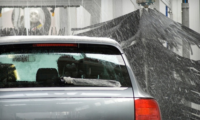 West Oaks Car Wash & Mobil1 Lube Express - Eldridge - West Oaks: One or Three Platinum Washes with Simoniz Hot Wax and Shine at West Oaks Car Wash & Mobil1 Lube Express (52% Off)