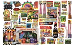 Petar2m: Lote de petardos con tracas, fuentes, truenos, cohetes, avispas, bengalas, torpedos y más desde 16,99 € en Petar2m