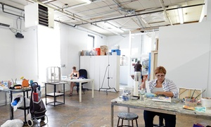 Trestle Gallery: Membership to Trestle Gallery with Gallery Program Access and Optional $50 Class Credit (Up to 50% Off)