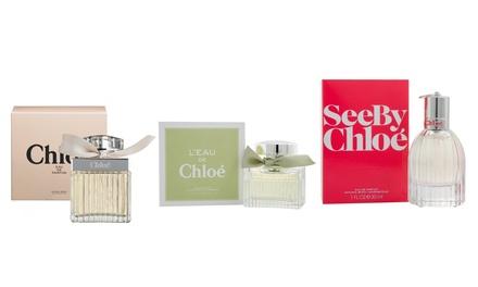 Eau de Parfum Chloé 30ml, Eau de Toilette LEau de Chloé 30ml ou Eau de Parfum See by Chloé 30ml pour femme