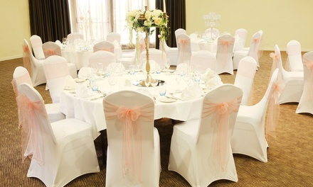 Wedding Package for 40 Day Guests and 80 Evening Guests at Samlesbury Hotel