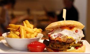 DKLé: Burgers ou Burritos et dessert pour 2 ou 4 pers à partir de 24,99€ au restaurant DKLé