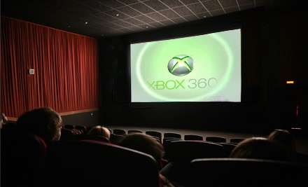 Two- or Four-Hour Movie-Screen Video Gaming Session at Buffalo Grove Theater (51% Off)