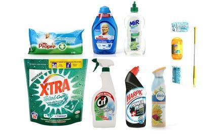 6 mois de produits ménagers pour étudiant