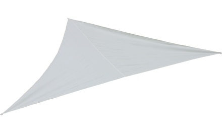 Tenda vela triangolare color écru