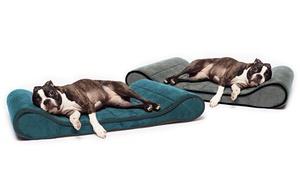 Memory-foam Orthopedic Contoured Pet Lounger