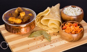 Karai Indian Cuisine: Mutton or Chicken Curry and Rice from R89 for Two at Karai Indian Cuisine (Up to 46% Off)